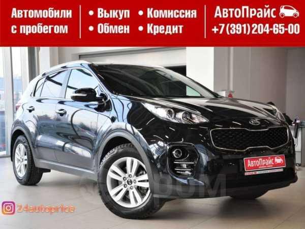 Kia Sportage, 2016 год, 1 320 000 руб.