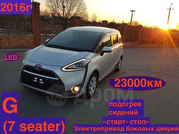 Toyota Sienta, 2016 год, 949 000 руб.