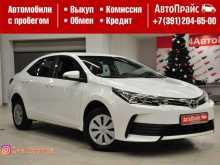 Toyota Corolla, 2016 г., Красноярск