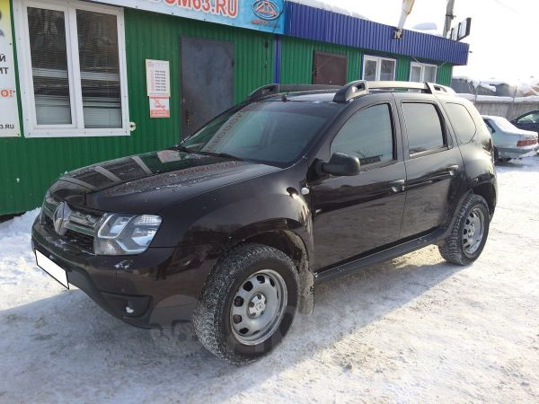 Renault Duster, 2016 год, 755 000 руб.