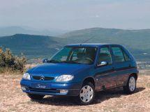 Citroen Saxo рестайлинг 1999, хэтчбек, 1 поколение