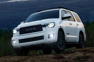 Toyota Sequoia TRD Pro получила усиленные амортизаторы