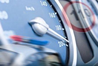 Чаще всего водители превышали скорость.