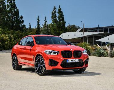 Дай жару: BMW представила кроссоверы X3 M и X4 M