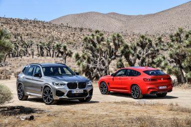 BMW озвучила российские ценники спорт-кроссоверов X3 M и X4 M