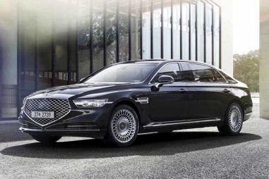 Обновленный «лимузин» Genesis G90L подорожал более чем на 12 000 долларов