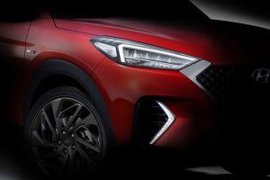 Hyundai привезет в Женеву кроссовер Tucson в модификации N Line: опубликованы первые фотографии