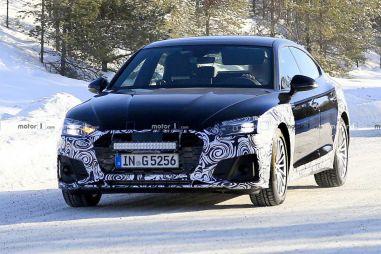 Audi выкатила на тесты рестайлинговый лифтбек A5 Sportback