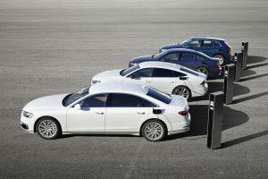 Audi представила новые подключаемые гибриды Q5, A6, A7 и A8