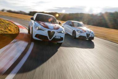 Кими Райкконен и Антонио Джовинацци представили уникальные Alfa Romeo Giulia и Stelvio