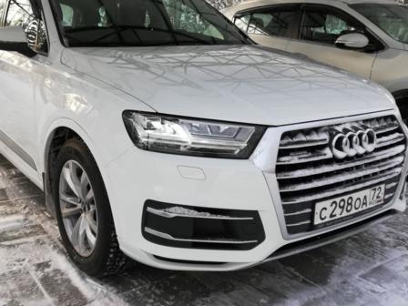 Audi Q7 2018 - отзыв владельца