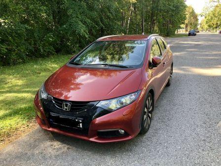 Honda Civic 2014 - отзыв владельца