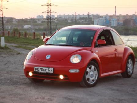 Volkswagen Beetle 2001 - отзыв владельца