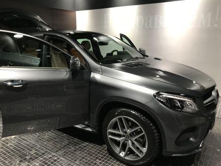 Mercedes-Benz GLE Coupe 2018 - отзыв владельца