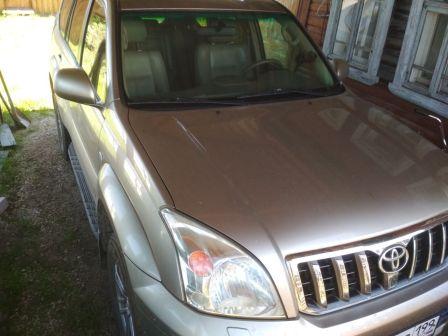 Toyota Land Cruiser Prado 2005 - отзыв владельца