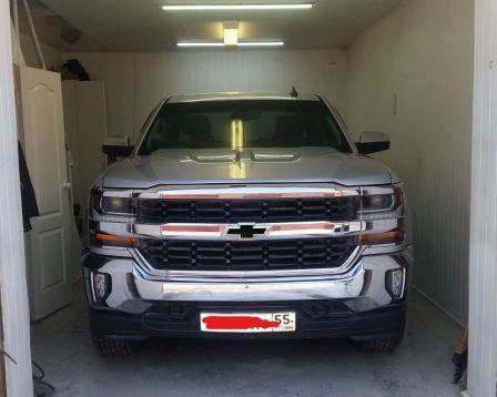 Chevrolet Silverado 2017 - отзыв владельца