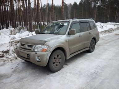 Mitsubishi Pajero 2004 отзыв автора | Дата публикации 14.02.2019.
