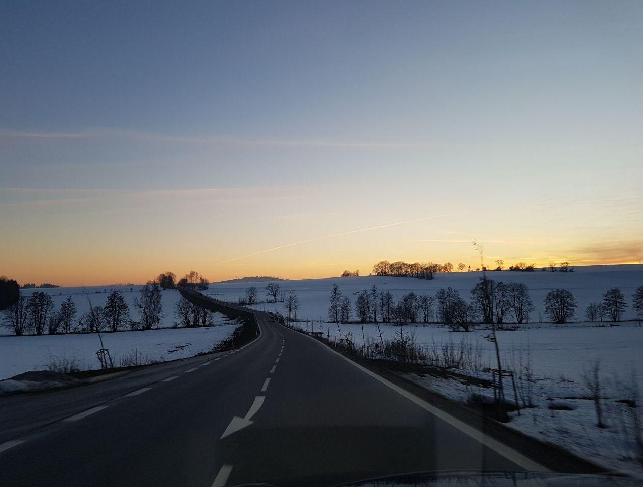 В районе чешских гор