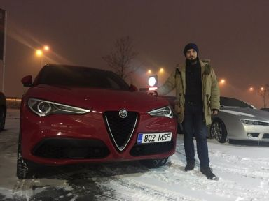 Alfa Romeo Stelvio 2018 отзыв автора | Дата публикации 21.02.2019.