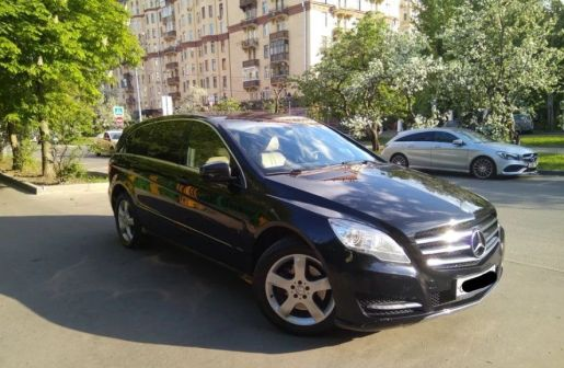 Mercedes-Benz R-Class 2011 - отзыв владельца