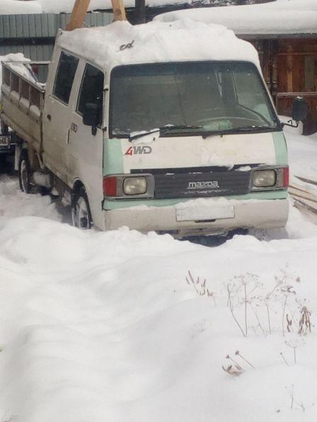 Mazda Bongo Brawny Truck 1996 - отзыв владельца
