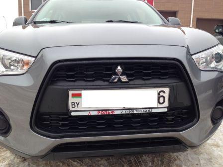 Mitsubishi ASX 2014 - отзыв владельца