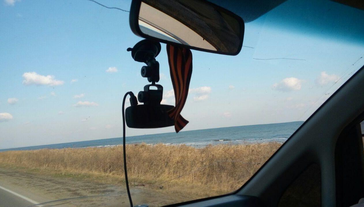 еду по Сахалину вдоль залива Терпения.