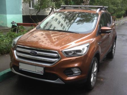 Ford Kuga 2017 - отзыв владельца