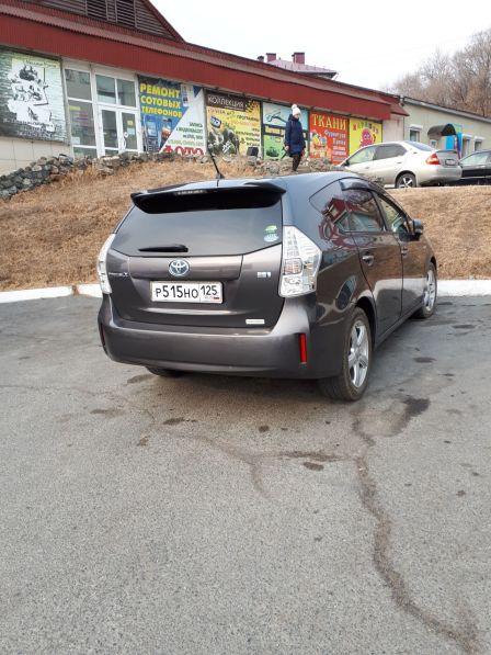 Toyota Prius a 2013 - отзыв владельца