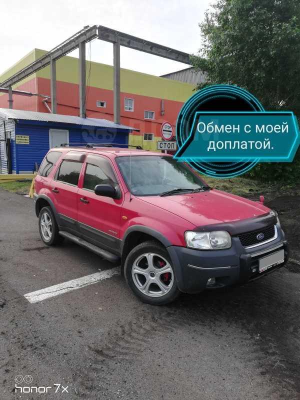 Ford Escape, 2002 год, 369 000 руб.