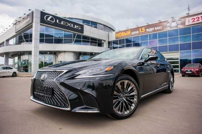 Lexus LS500, 2018 год, 8 620 000 руб.