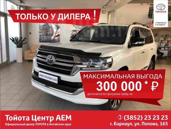 Toyota Land Cruiser, 2018 год, 5 631 000 руб.