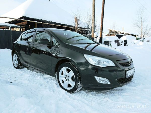 Opel Astra, 2012 год, 485 000 руб.