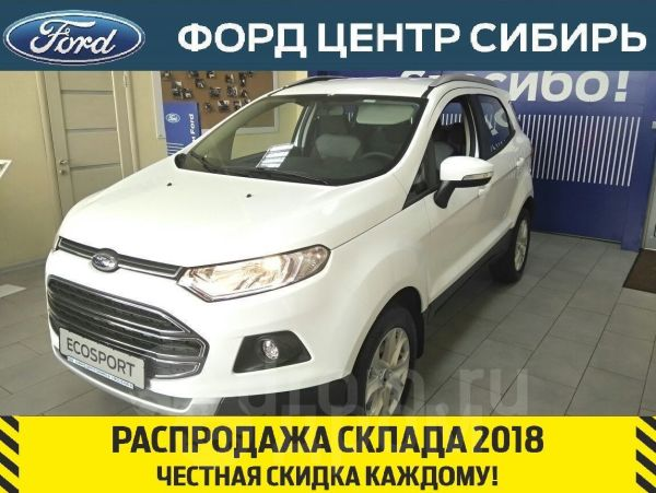 Ford EcoSport, 2018 год, 1 145 000 руб.