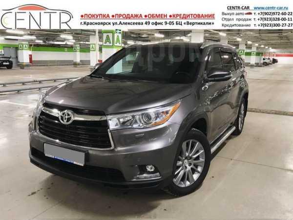 Toyota Highlander, 2014 год, 1 870 000 руб.