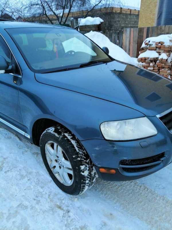 Volkswagen Touareg, 2004 год, 270 000 руб.