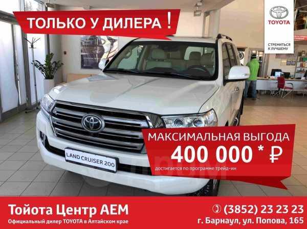 Toyota Land Cruiser, 2018 год, 5 321 000 руб.