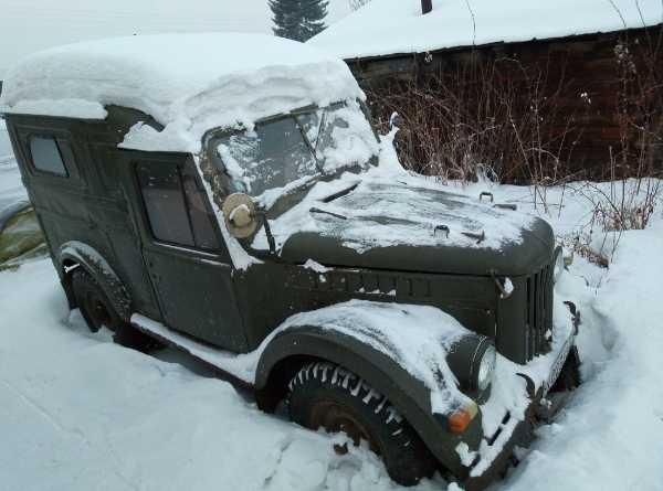 ГАЗ 69, 1968 год, 50 000 руб.