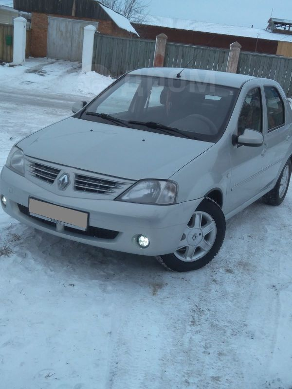 Renault Logan, 2008 год, 259 000 руб.