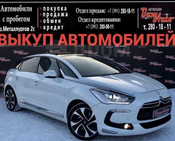 Citroen DS5, 2012 год, 790 000 руб.