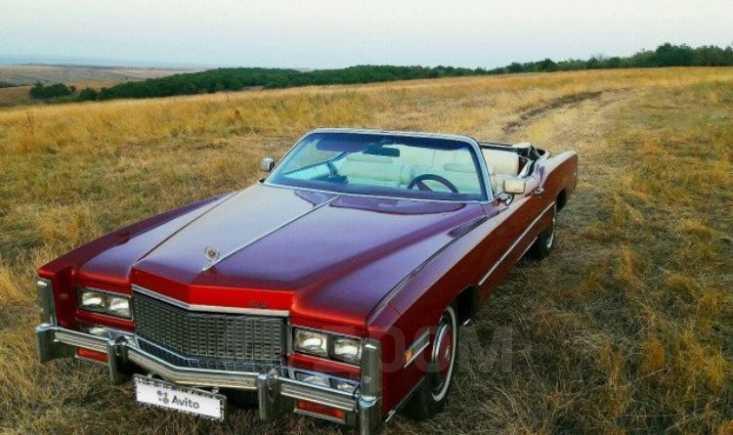 Cadillac Eldorado, 1976 год, 2 500 000 руб.