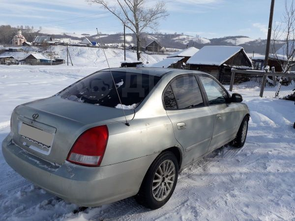 Hyundai Elantra, 2001 год, 150 000 руб.