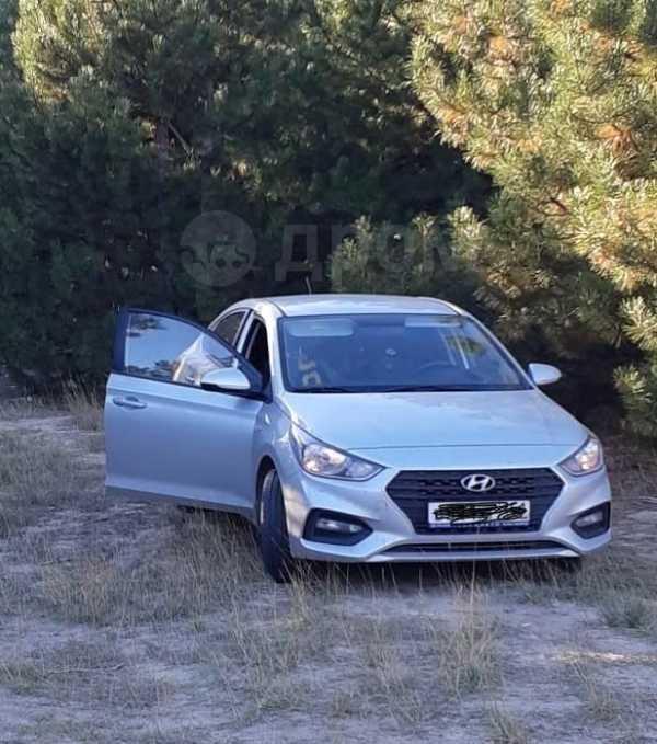 Hyundai Solaris, 2017 год, 725 000 руб.