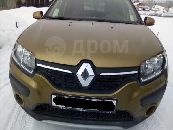 Renault Sandero Stepway, 2016 год, 660 000 руб.