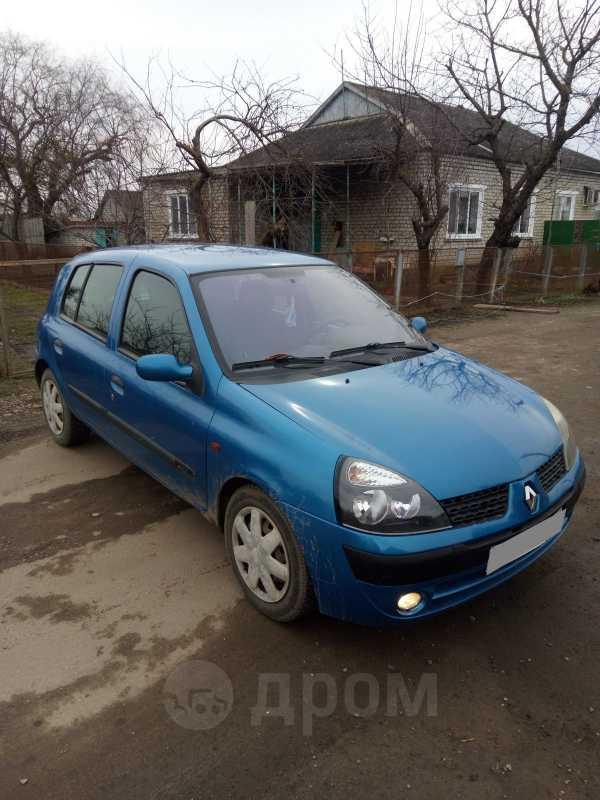 Renault Clio, 2002 год, 190 000 руб.