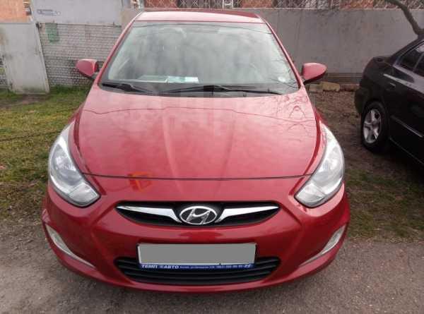 Hyundai Solaris, 2012 год, 475 000 руб.