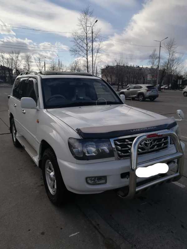 Toyota Land Cruiser, 2002 год, 1 149 000 руб.