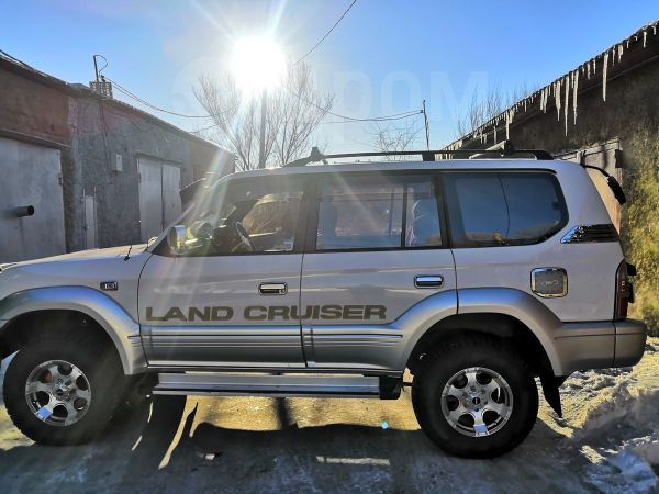 Toyota Land Cruiser Prado, 1999 год, 670 000 руб.