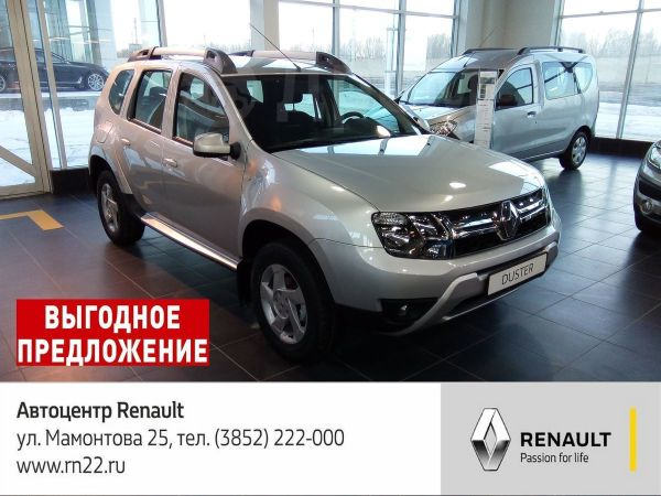 Renault Duster, 2018 год, 1 020 970 руб.