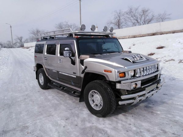 Hummer H2, 2002 год, 700 000 руб.